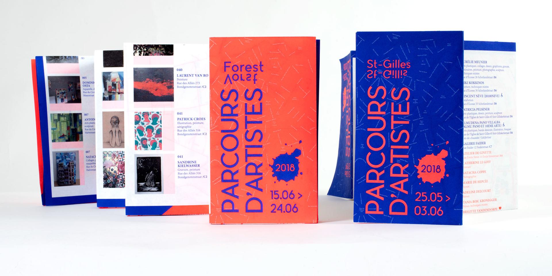Parcours d'Artistes Saint-Gilles & Forest 2018
